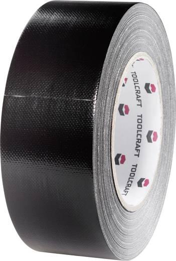 TOOLCRAFT Gaffer Textieltape Zwart (l x b) 20 m x 48 mm Smeltlijm Inhoud: 1 rollen
