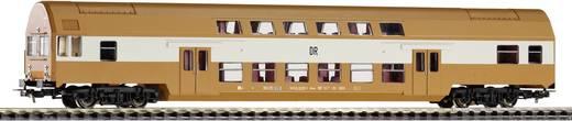 Piko H0 57623 H0 dubbeldeksstuurstandrijtuig van de DR Stuurstandrijtuig Senftopf (bruin)