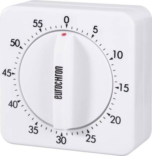 Eurochron Mechanische stopwatch EAT 6000 Timer Wit