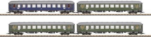 4-delige set sneltreinrijtuigen van de DB