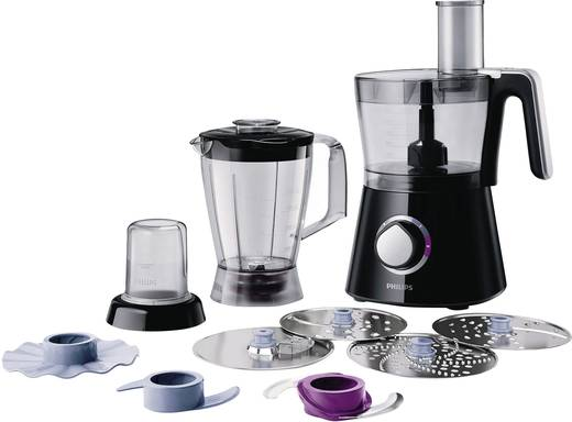 Philips HR7762/90 Viva Collection Foodprocessor 750 W Zwart