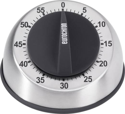 Eurochron Mechanische stopwatch EAT 6060 Timer RVS