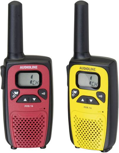 Audioline PMR-portofoon PMR 16 Set van 2