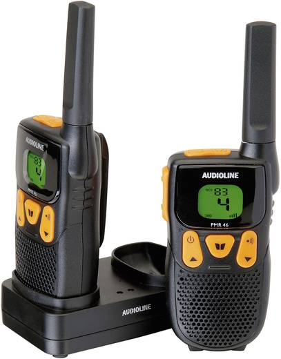 Audioline PMR-portofoon PMR 46 Set van 2