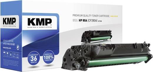 KMP Printercartridge / toner H-T163 / 1235,6000 / vervangt HP N/A, Zwart, Compatibel