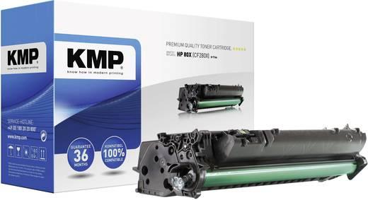KMP Printercartridge / toner H-T164 / 1235,6300 / vervangt HPN/A, Zwart, Compatibel