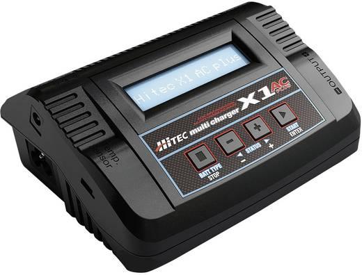 Hitec Multicharger X1AC Plus Modelbouw multifunctionele lader 12 V, 220 V 6 A Lood, Li-poly, LiFePO, Li-ion, NiCd, NiMH