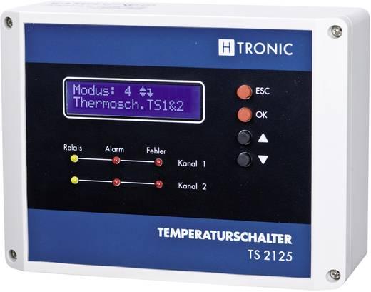 Multifuctionele temperatuurschakelaar -55 tot 125 °C H-Tronic TS 2125