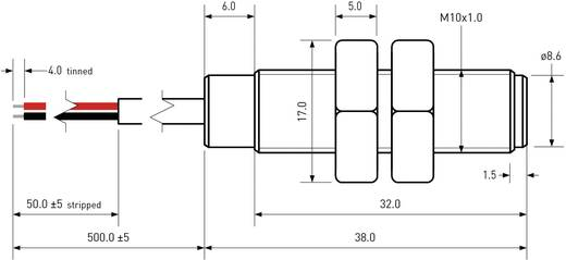 PIC MS-2210M-3/973 Reedcontact 1x NO 200 V/DC, 140 V/AC 1 A 10 W