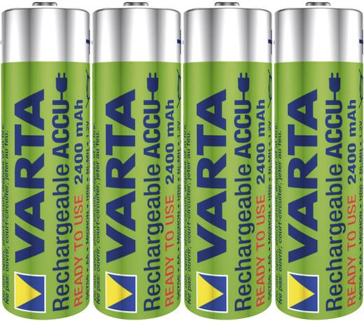 Oplaadbare AA batterij (penlite) NiMH Varta Toy-Akku HR06 2400 mAh 1.2 V 4 stuks