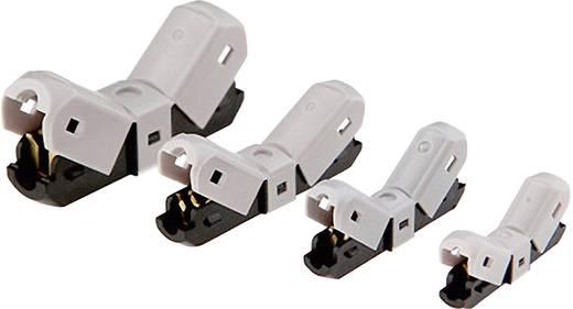 Aderverbinder Flexibel: 2.25-3 mm² Massief: 2.25-3 mm² Aantal polen: 2 1 stuks Grijs, Zwart