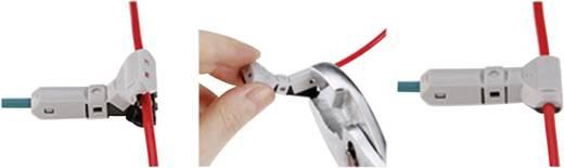 Aftakconnector Flexibel: 2.25-3 mm² Massief: 2.25-3 mm² Aantal polen: 2 1 stuks Grijs, Zwart