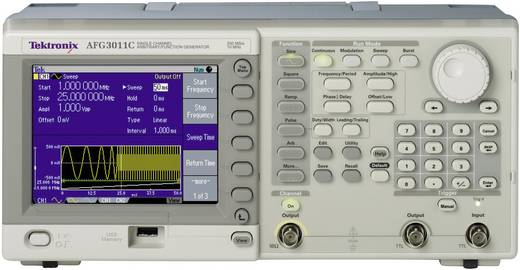 Tektronix AFG3011C arbitraire-functiegenerator, frequentiebereik 1 µHz - 10 MHz kanalen 1