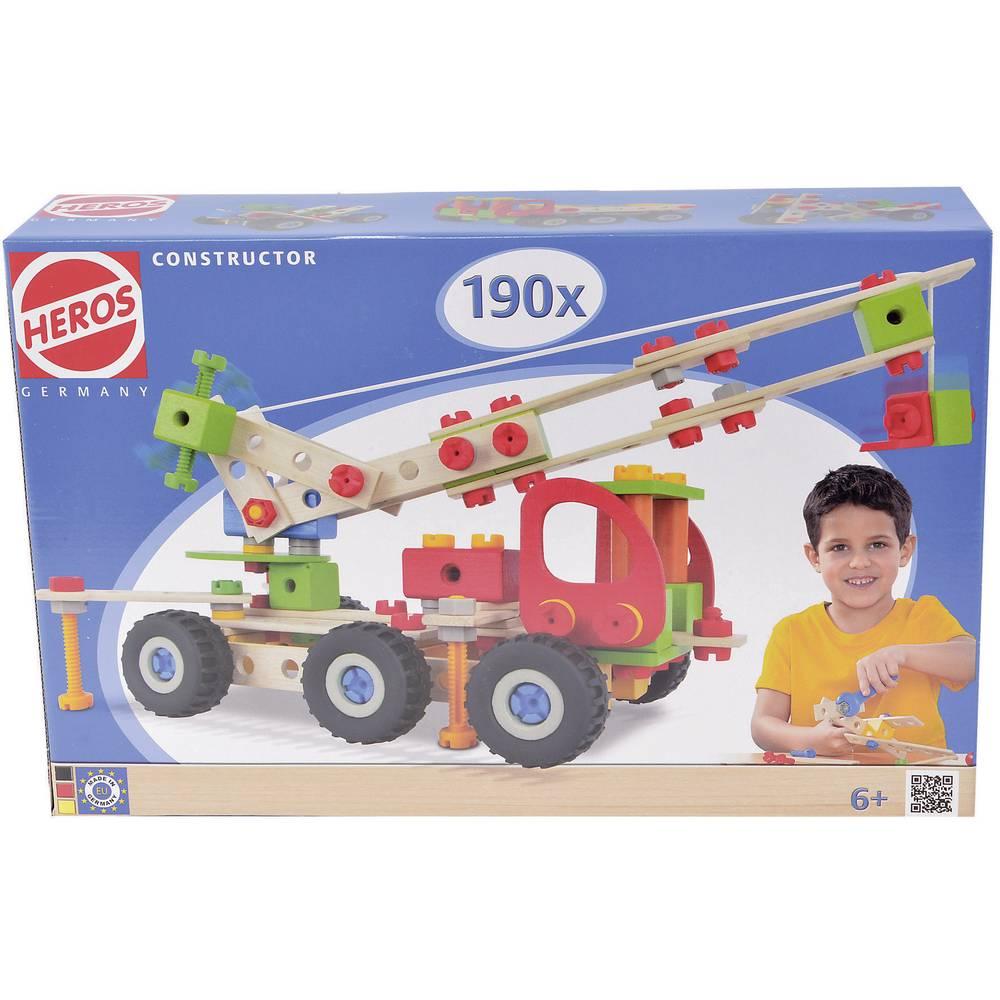 Heros Komponent-set Constructor Antal delar: 190 Antal modeller: 7 Åldersklass: från 6 år