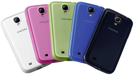 Samsung Protective Cover+ GSM backcover Geschikt voor model (GSM's): Samsung Galaxy S4 Roze