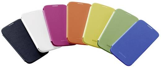Samsung Flip Cover GSM flip cover Geschikt voor model (GSM's): Samsung Galaxy S4 Geel