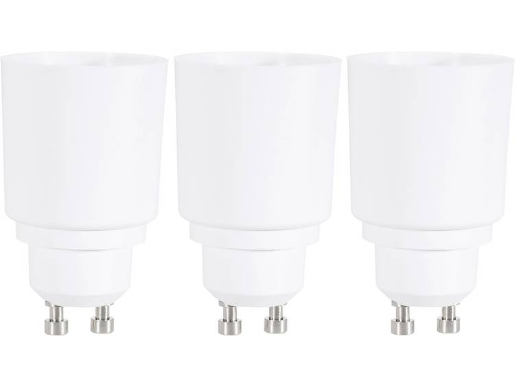 Renkforce Lampfitting Adapter GU10 naar E27 Geschikt voor: max. 75 W 97029c81g