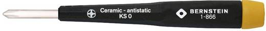 Afregelschroevendraaier met keramische kling, kruiskop maat 0 Bernstein 1-866
