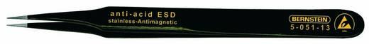 Bernstein SMD-pincet, recht-spits, met ESD-coating Lengte 115 mm 5-051-13