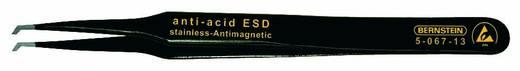 Bernstein 5-067-13 SMD-pincet 12 SA-ESD Plat, gebogen 45° 120 mm
