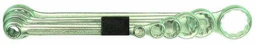 Dubbele ringsleutelset 6-delig 6 - 19 mm Bernstein 6-650