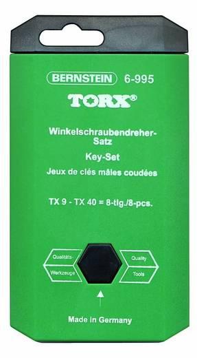 Bernstein Haakse schroevendraaierset Torx BO 8-delig