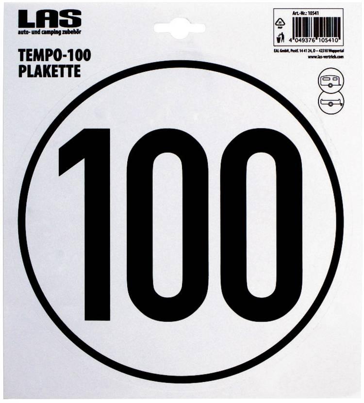 Image of LAS 10541 100 km/h Temposticker