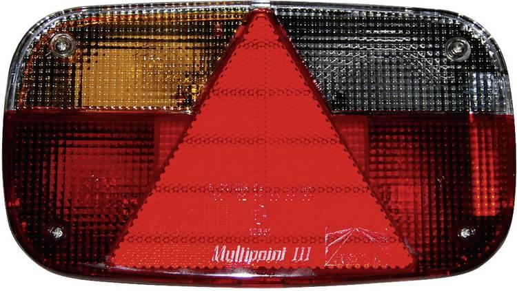Image of Gloeilamp Aanhangerachterlicht Knipperlicht, Remlicht, Kentekenverlichting, Reflector, Achterlicht, Mistachterlicht links 12 V LAS