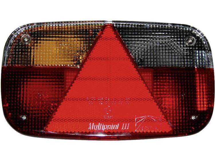 Gloeilamp Aanhangerachterlicht Knipperlicht, Remlicht, Kentekenverlichting, Reflector, Achterlicht, Mistachterlicht links 12 V LAS