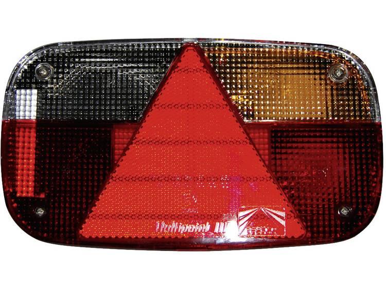 Gloeilamp Aanhangerachterlicht Knipperlicht, Remlicht, Kentekenverlichting, Reflector, Achterlicht, Mistachterlicht rechts 12 V LAS