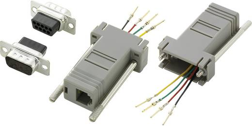 Conrad Components D-SUB adapter D-sub stekker 9-polig - RJ11-bus 1 stuks