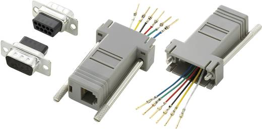 Conrad Components D-SUB adapter D-sub stekker 9-polig - RJ12-bus 1 stuks