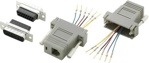Conrad Components D-SUB adapter D-sub stekker 15-polig - RJ12-bus 1 stuks