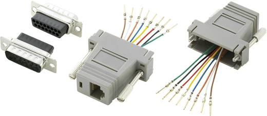 Conrad Components D-SUB adapter D-sub stekker 15-polig - RJ45-bus 1 stuks