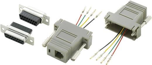 Conrad Components D-SUB adapter D-sub bus 15-polig - RJ11-bus 1 stuks