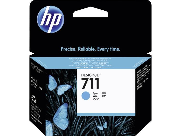 HP Inkt 711 Origineel Cyaan CZ130A