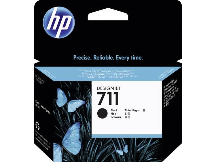 HP Inkt 711 Origineel Zwart CZ133A