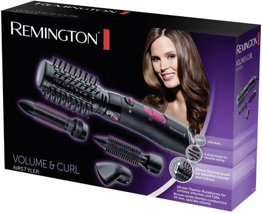 Haarborstel Remington Volume & Curl Zwart