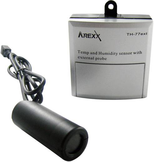 Datalogger sensor Arexx TSN-TH77ext (Temperatuur, Vochtigheid) -40 tot 124 °C 5 tot 100 % Hrel