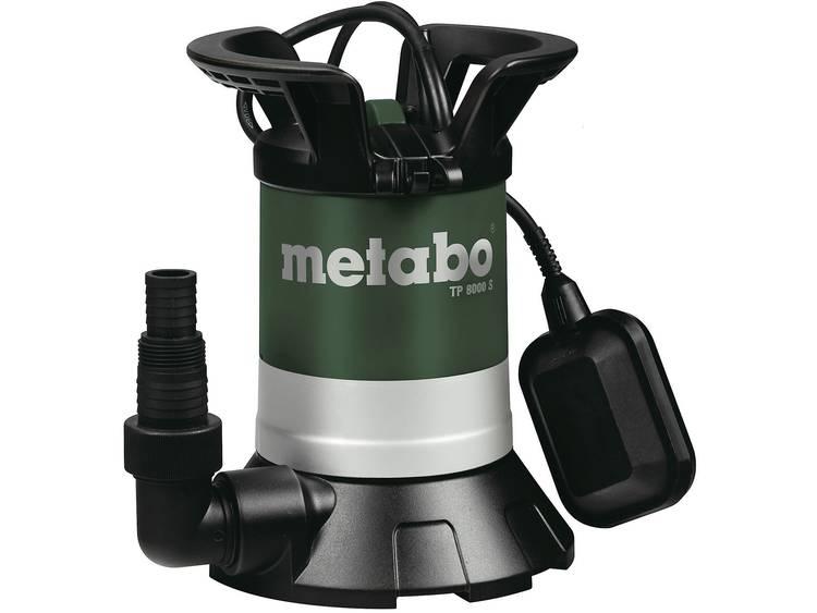 Metabo TP 8000 S Schoonwaterpomp-Dompelpomp