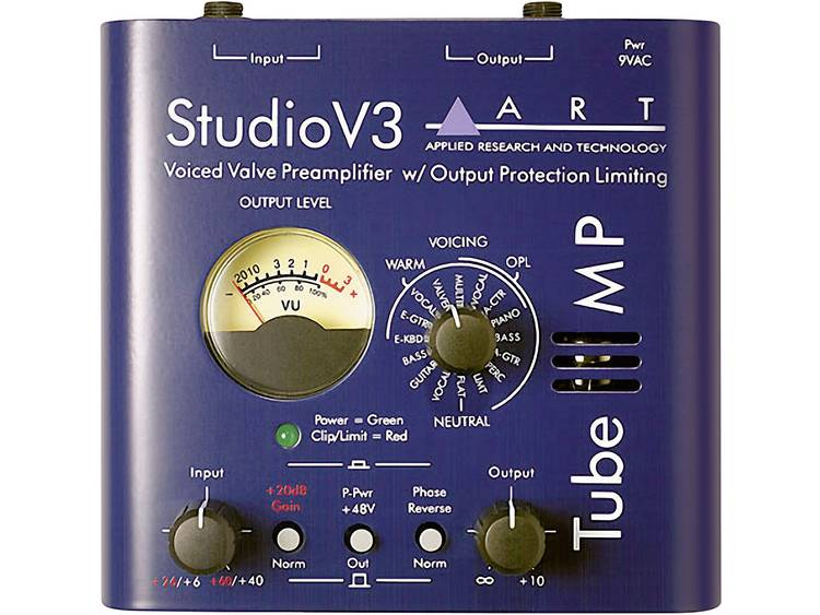ART-Tube MP Studio V3-microfoonvoorversterker