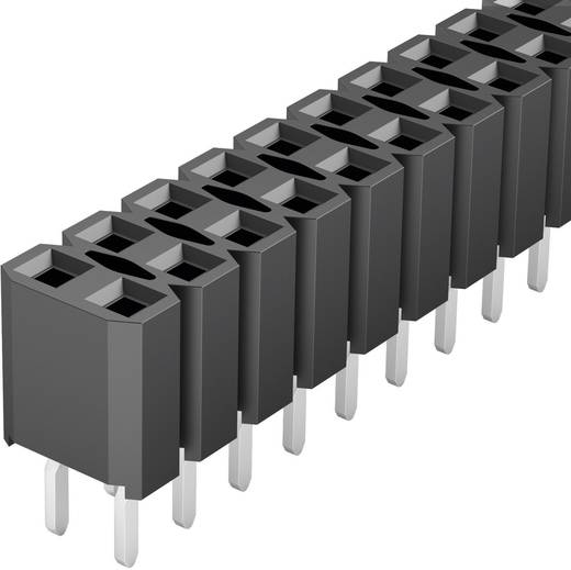 Female connector (standaard) Aantal rijen: 2 Aantal polen per rij: 36 Fischer Elektronik BL LP 2/ 72/Z 1 stuks