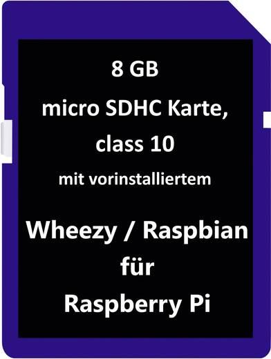 "Raspberry Pi besturingsstysteem ""Wheezy"" A, B, B+ Raspberry Pi® A, B, B+"