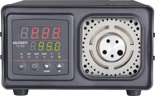 VOLTCRAFT TC-150 Temperatuurkalibrator, voor het kalibreren van contactthermometers, kalibratiebereik +33 tot +300 °C, basisnauwkeurigheid ±0,8 °C