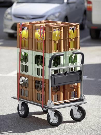 Meister Werkzeuge 8985680 Platformwagen Inklapbaar, Met opbergvak Staal Laadvermogen (max.): 300 kg