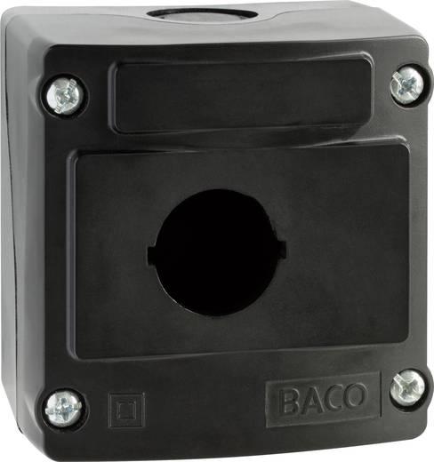 BACO LBX0100NR Lege behuizing 1 inbouwplaats (l x b x h) 74 x 74 x 47.9 mm Zwart 1 stuks