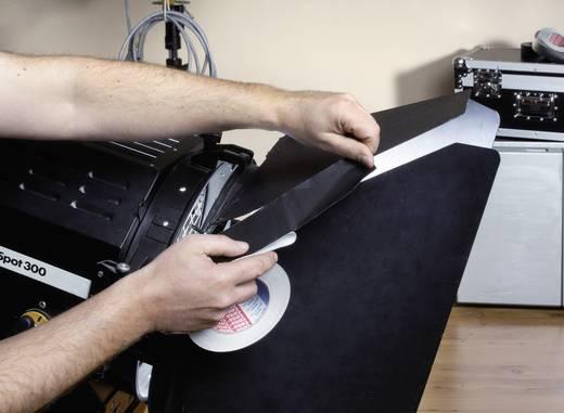 TESA Aluminium tape Zwart (l x b) 25 m x 50 mm Acryl Inhoud: 1 rollen