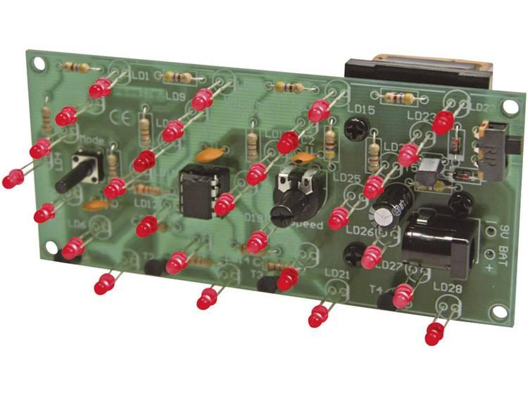 Velleman LED-pijl MK176 Bouwpakket 9 tot 15 V-DC