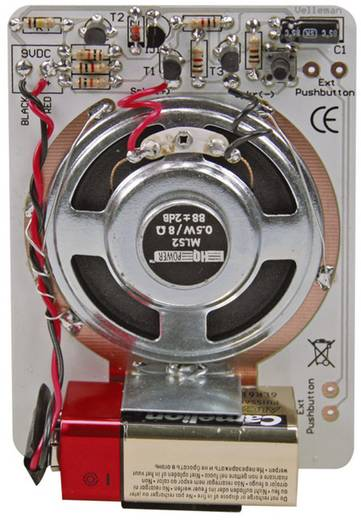 Velleman MK177 Ding Dong Bouwpakket 9 V/DC