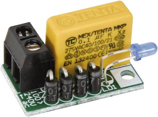 Velleman MK181 LED-bouwpakket Uitvoering (bouwpakket/module): Bouwpakket 110 V/AC, 240 V/AC